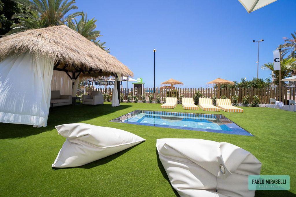 Pergolas y Palapas Beach Club Canarias