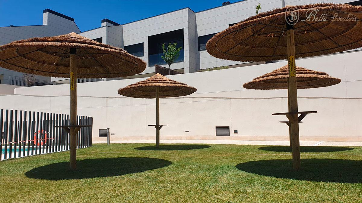 Sombrillas de Junco Africo en Madrid